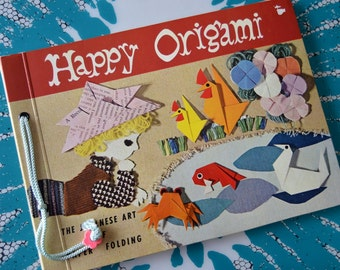 Vintage 1960 Happy Origami Book