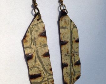 Boho Chic Leather earrings