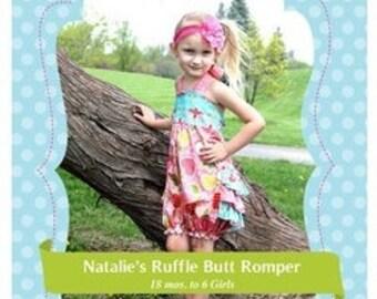 Create Kids Couture Natalie's Romper – New – Uncut Paper Pattern