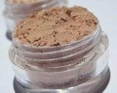 Semi-Matte |Creamy Coffee Shade | Vegan Mineral Eye Shadow | Every Day Shade of Brown -Coffee Latte