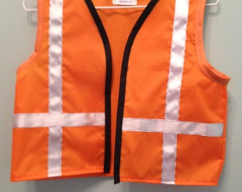 ADULT Construction worker vest, men or women