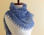 Ondine Shawl ~ PDF Crochet Pattern