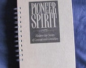 Recycled Vintage Book Pioneer Spirit Journal Upcycled