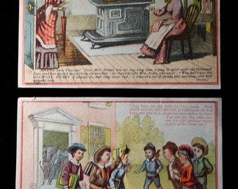 Victorian Trading Cards for , Diamond Dyes