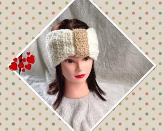 Winter Head Wrap, Crochet Ear Warmer, Head Warmer, Women's Fashion Accessory