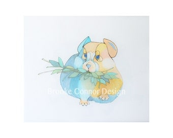 The cutest animal in the world Pika or Rock Rabbit Print