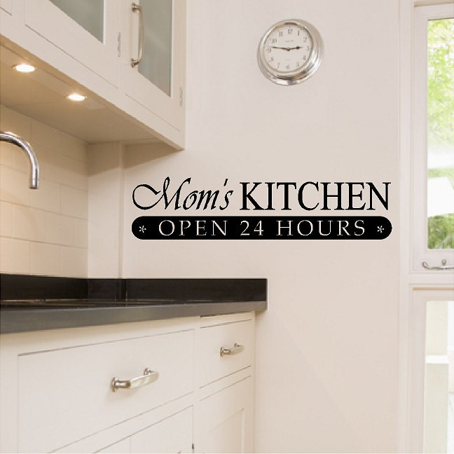Kitchen Wall Quotes And Sayings: Moms Kitchen...Kitchen Wall Quotes Sayings Words Removable