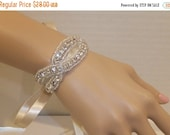 ON SALE Wedding Bracelet, BRANDI, Rhinestone Bracelet, Crystal Bracelet, Bridal Bracelet