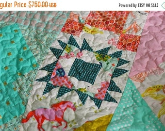 ON SALE Queen Size Sampler Quilt