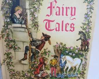 The Tasha Tudor Book of Fairy Tales Vintage 1965 Book