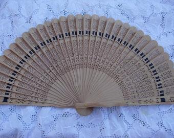 lace wood spanish fan FREE SHIPPING