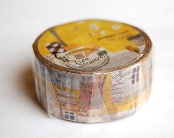 Village washi tape 20mm x 10M