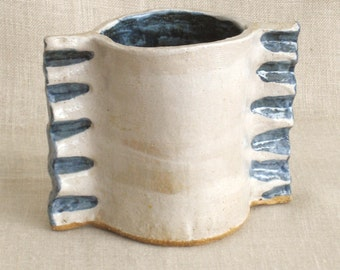 Studio Pottery, Studio Ceramics, Vessel, Pencil Cup, Drinking Cup, Small Vase, Handmade, Pottery, Ceramics, Cup, Art Pottery, Ceramic Cup