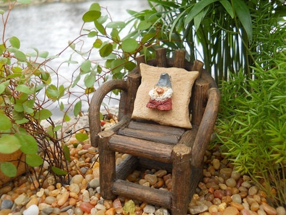 """1"""" Square Gnome Pillow (Resin) Chair Not Incl."""