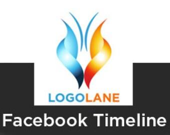 FACEBOOK TIMELINE, Logo Design, Logo, Premade Logo, Business Logo, Creative logo, Logo Design Service, Small Business, Photography Logo, .
