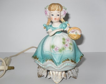 Figurine Lamp Etsy