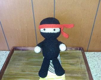Crochet Ninja Kid