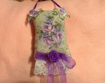 5 inch lavender scented floral sachet
