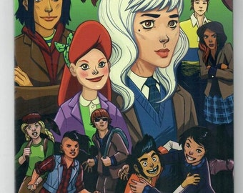 LUMBERJANES + GOTHAM ACADEMY #1 (2 variant covers) - signed by Leila Del Duca & Colleen Coover