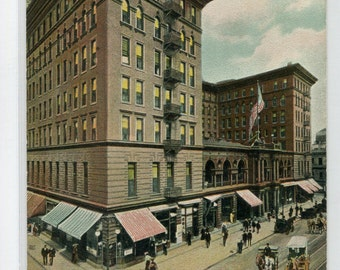 St Charles Hotel New Orleans Louisiana 1907c Tuck postcard