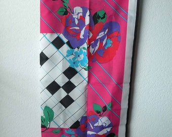 Vintage Abstract Scarf