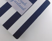 Baby Book Navy Stripe Baby Memory Book Personalized Pregnancy Journal