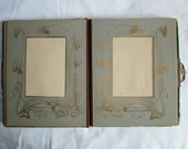 Victorian Leather Photograph Album for Cabinet Card, CDV / Tintype - Empty