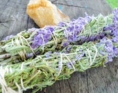 Blue Sage Smudge Sticks 7-8 inch Wicca/Pagan/Herbs