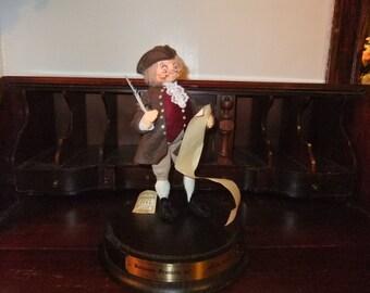 1987 Annalee Benjamin Franklin Doll