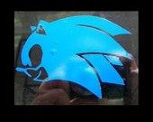 Sonic the Hedgehog vinyl car decal