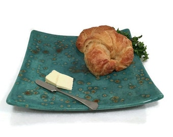 Appetizer Platter - Teal Blue