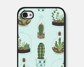 iPhone 5c Case - iPhone 6 Case - Cactus - Samsung Galaxy S5 Case - iPhone 6s Case - iPhone 5s Case - Succulent - Geometric iPhone 5 Case