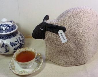 Sheep tea cozy, tea cosy: Seymour the sheep cozy