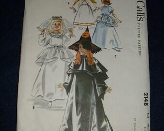 McCall's 2148 Halloween Pattern