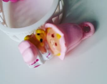 Lil Tulip, with ring, Charmkins, hasbro, vintage toy, good used condition,1983, 80s, by NewellsJewels
