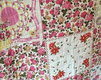 Pretty in PINK Handkerchief QUILT