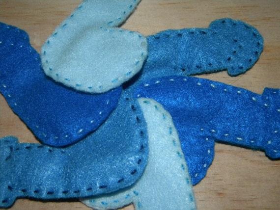 Blue Ball Phallus Pins