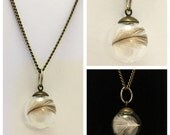 Penguin Feather Necklace