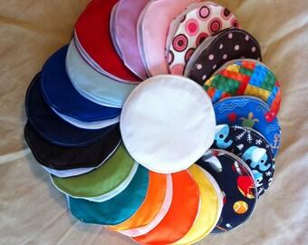 Reusable Nursing Pads - Set of 6 Pairs
