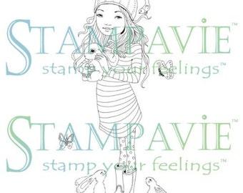 """Stampavie Anne Cresci Clear Stamp Marion, 3.75"""""""