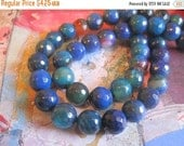 """20% OFF ON SALE Blue and Pink Agate Faceted Round 8mm Beads, 8"""" long, 24 pcs, Gemstone Beads"""