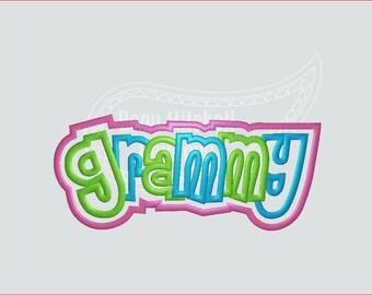 Grammy double applique