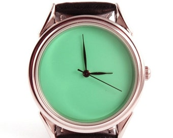 25% SALE OFF Turquoise watch - ascetic watch - unisex watches