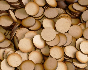 ON SALE TODAY Unfinished wooden circles / disc for essential oil diffusers or crafting jewelry making in the size of your choice