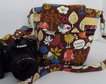 Dollbirdies Original Large DSLR Camera Bag, Camera Case, Camera Tote