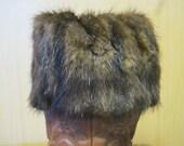 Real Fur Mink Boot Cuffs