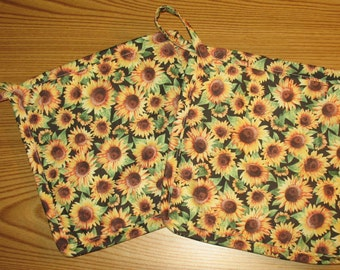 Sunflowers Set of 2 Potholders