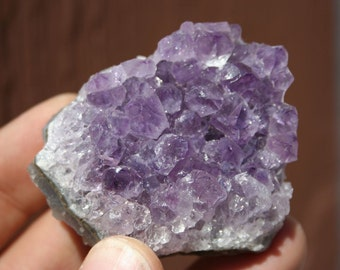 Amethyst Purple Quartz Crystal Cluster