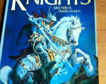 1982 Paperback Knights Julek Heller and Deirdre Headon 191 pages