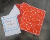 30 Ct 2 Ply Terry Cloth backed Tender Bottoms Baby Wipes 8 inch squares